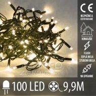 Vianočná LED svetelná reťaz vonkajši...