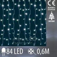 Vianočná LED svetelná záclona vnútor...