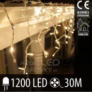 Vianočná LED svetelná záclona vonkaj...