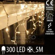 Vianočná LED svetelná záclona vonkajši...