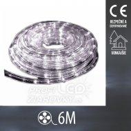 Vianočný LED svetelný HAD vonkajší - 6M Studená Biela