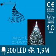 Vianočný LED zväzok svietiacich reťa...