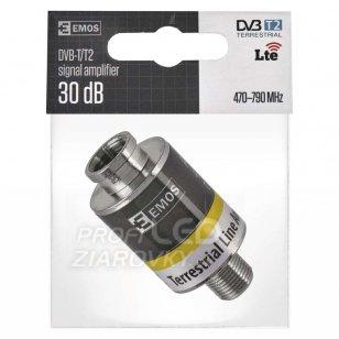 Zosilňovač DVB-T/T2 signálu 30db