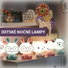 Detské nočné lampy