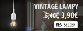 Vintage závesné lampy