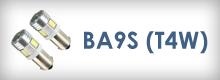 Led autožiarovky BA9S (T4W)