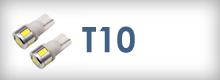 Led žiarovky T10